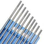 10 Stück WIG Wolfram-Elektroden WC20 – 2,4 x 175 mm Thoriumfrei
