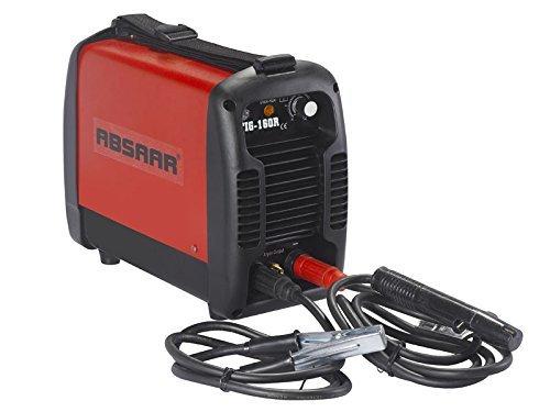 absaar ab tig160a wig schweissgeraet 160 ampere rot - ABSAAR AB-TIG160A Wig Schweißgerät 160 Ampere, Rot