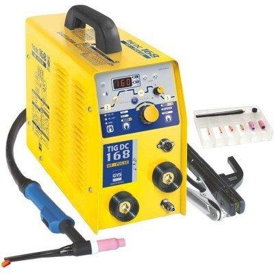 gys schweissinverter 10 160 a tig 168 dc hf inkl zubehoer - GYS Schweißinverter 10 - 160 A TIG 168 DC HF inkl. Zubehör