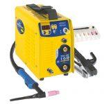 GYS WIG- und Elektroden-Schweißinverter 160 A, Lift Zündung, gelb, TIG 160 DC – LIFT