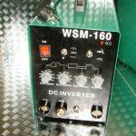 HST TIG WIG MMA WSM 160 Amp HF-Zün Schweißgerät Inverter Schweissgerät Hot Start
