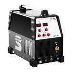 Stamos Power – S-MTM 220 – Kombi-Schweißgerät – geeignet für MIG/MAG, WIG DC und E-Hand-Schweißen – 220 Ampere Schweißleistung – 60% Einschaltdauer – Powerventilatoren