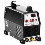 Stamos Power – S-TIG 220 – WIG-Schweißgerät – 220 Ampere Schweißstrom – zusätzliche E-Hand-Schweißfunktion – 60% Einschaltdauer – HF Zündung – Powerventilatoren